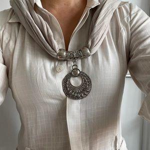 Jewelry Scarf Necklace
